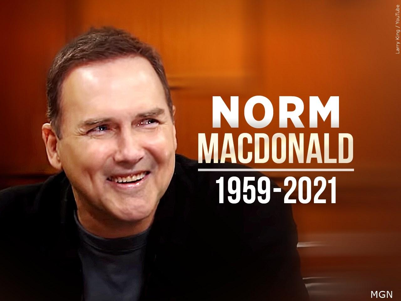 Muere el comediante Norm Macdonald; luchó en secreto contra el cáncer