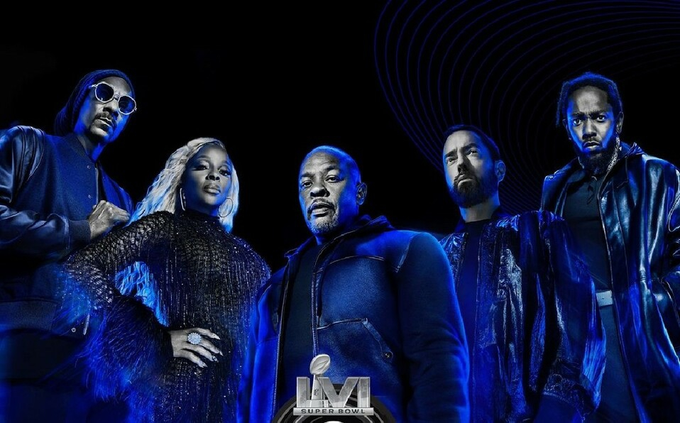 ¡Eminem, Snoop Dogg, Dr Dre y más! Estos artistas se presentarán en el Super Bowl LVI